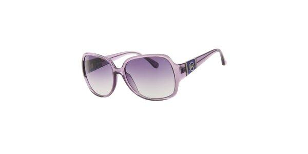 Dámské fialové transparentní sluneční brýle Michael Kors