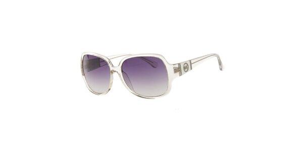 Dámské transparentní sluneční brýle Michael Kors s fialovými sklíčky