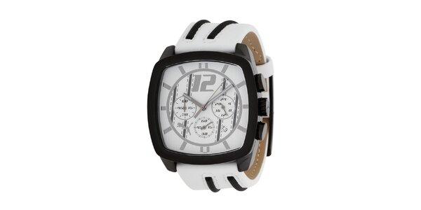 Pánské bílé analogové hodinky Puma
