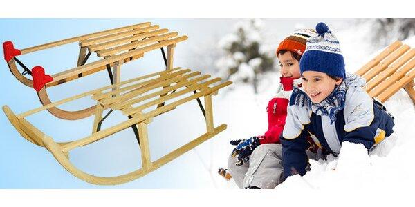 Dětské dřevěné sáňky - výběr ze 3 druhů