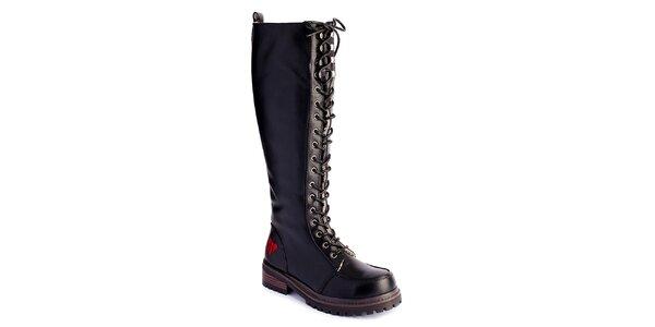 Dámské vysoké šněrovací boty Lola Ramona
