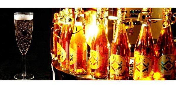 České pivo s vločkami z pravého zlata – Original Czech Gold Lager