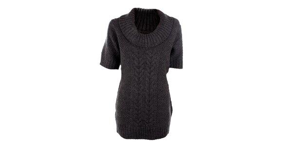 Dámský šedý svetr s příměsí vlny Emoi