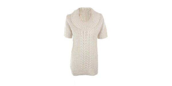 Dámský bílý svetr s příměsí vlny Emoi