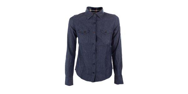 Dámská modrá košile Emoi