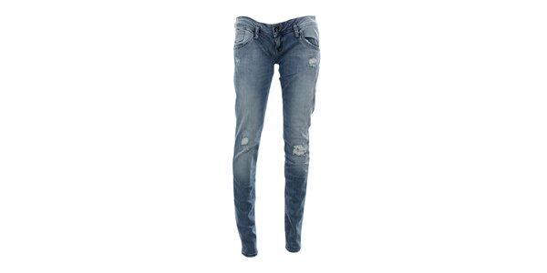 Dámské modré úzké rovné džíny Tommy Hilfiger