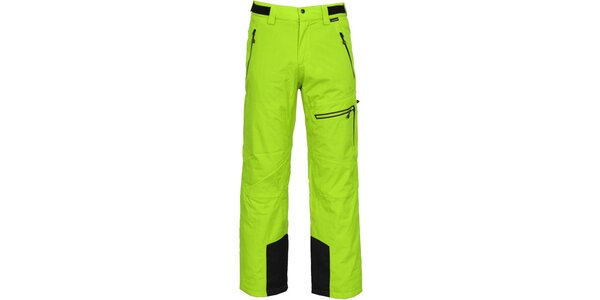 Pánské zelené lyžařské kalhoty Bergson