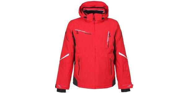 Pánská červená lyžařská bunda Bergson