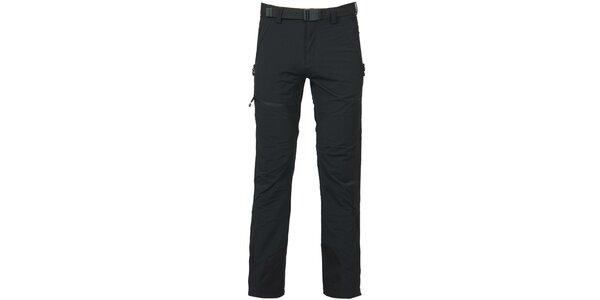 Pánské černé trekové kalhoty Bergson