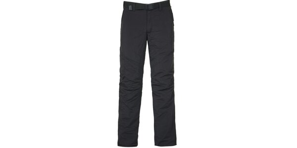 Pánské černé outdoorové kalhoty Bergson