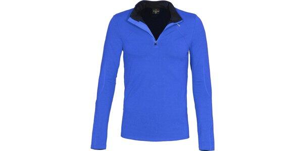 Pánské funkční modré triko Bergson
