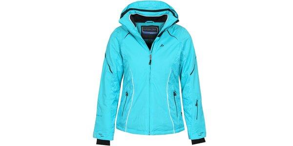 Dámská světle modrá lyžařská bunda Bergson