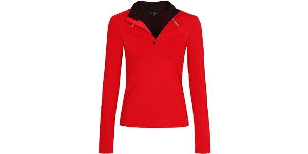 Dámské červené běžecké tričko Bergson