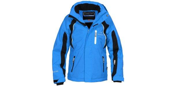 Dětská modro-černá lyžařská bunda Bergson