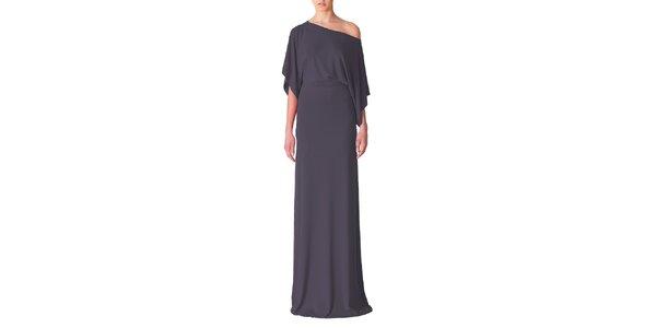 Dámské tmavě šedé večerní šaty Yuliya Babich