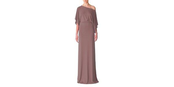 Dámské hnědé večerní šaty Yuliya Babich