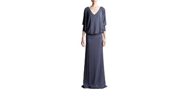 Dámské dlouhé šedé šaty Yuliya Babich