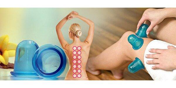 Sada 6 masážních zvonků pro vaše tělo