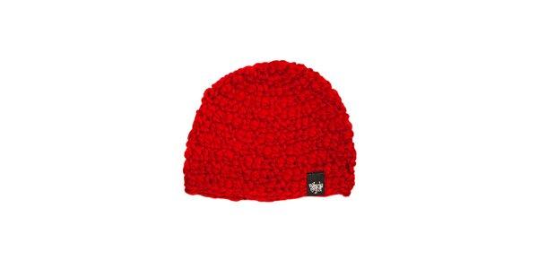 Červený měkkoučký dámský kulich značky Vehicle