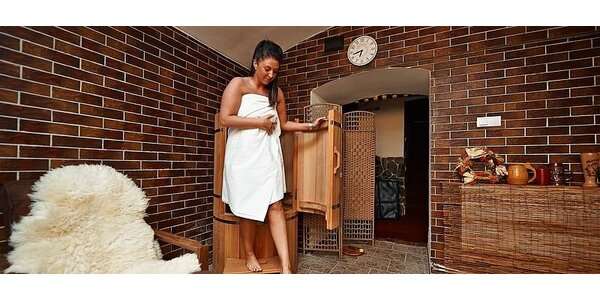 Detoxikační procedura v cedrové mini sauně