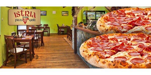 Dvě pizzy dle vlastního výběru