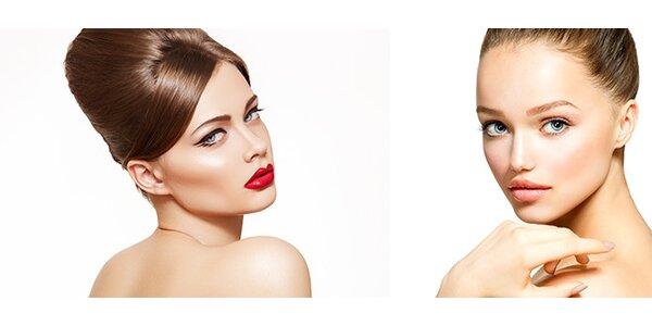 2 druhy kosmetického ošetření v novém studiu v Uherském Hradišti