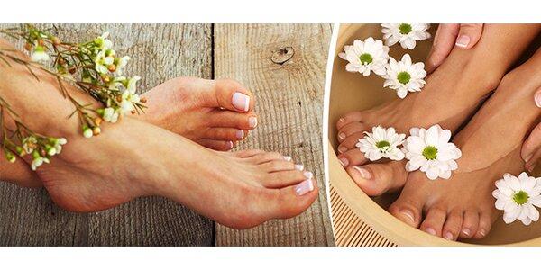 Mokrá pedikúra pro dokonalé nohy