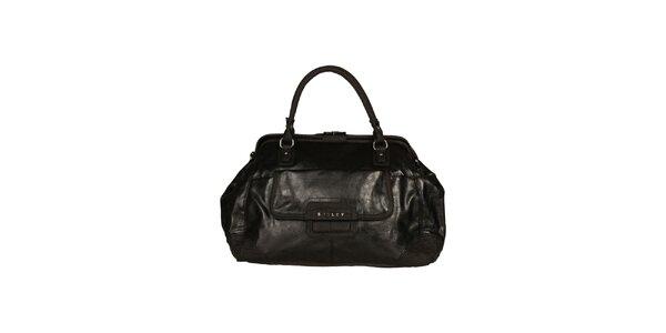 Dámská černá kabelka se dvěma uchy Sisley