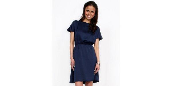 Dámské tmavě modré šaty Andrea G Design