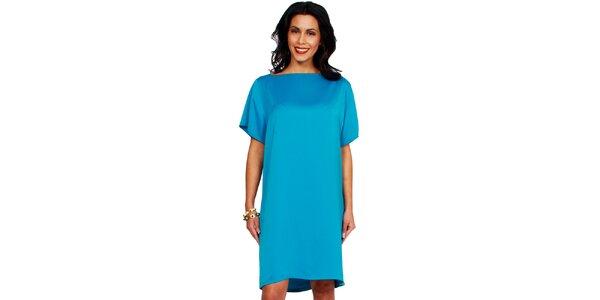 Dámské tyrkysové šaty Andrea G Design