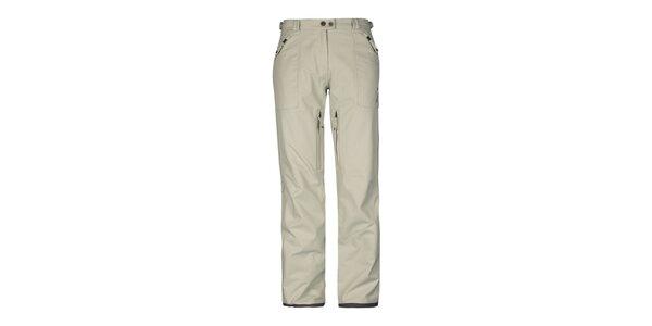 Dámské béžové kalhoty Husky