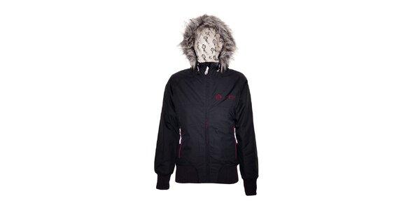 Dámská zimní bunda značky Vehicle s umělou kožešinou