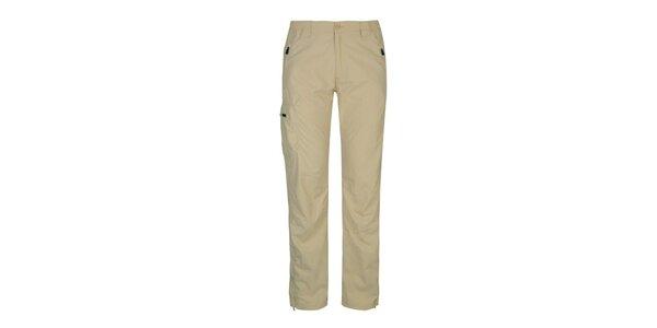 Dámské béžové outdoorové kalhoty Husky