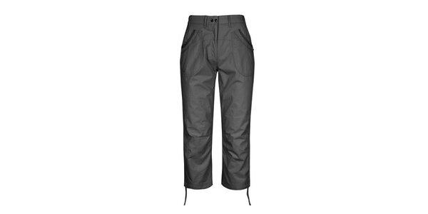 Dámské tmavě šedé 3/4 kalhoty Husky
