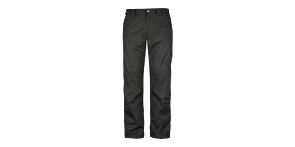 Pánské tmavě šedé zimní kalhoty Husky