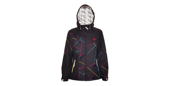Dámská zimní bunda značky Vehicle v černé barvě