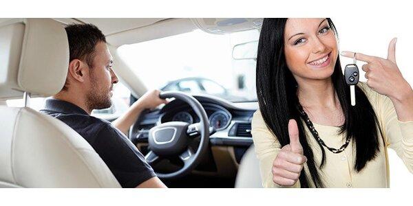 Výcvik k získání řidičského průkazu B jen za 6990 Kč