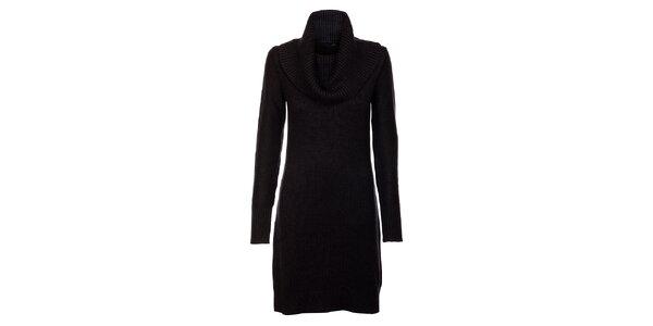 Černé rolákové šaty Tommy Hilfiger
