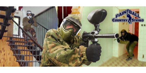 2 hod paintballu v Ostravici včetně střeliva, zbraně a oblečení