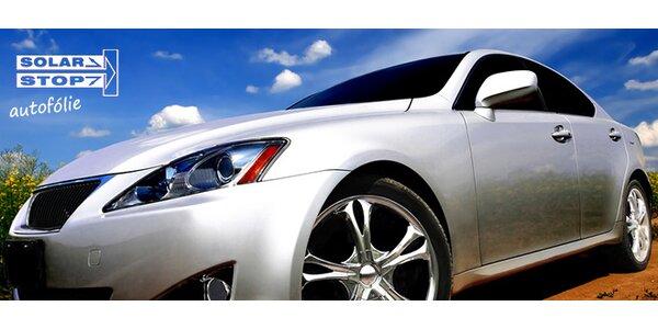 Autofólie včetně montáže na různé typy aut