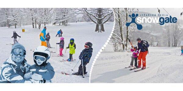 Celodenní lyžařský výcvik pro děti včetně dopravy