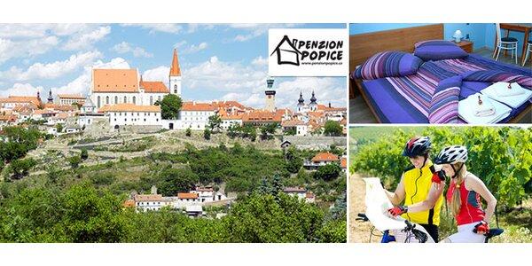 Dovolená i degustace vína na jižní Moravě pro dva