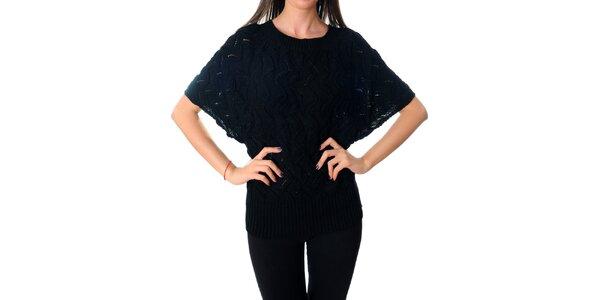 Dámský černý svetr Ribelli