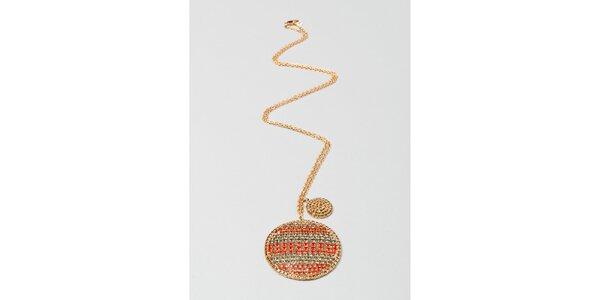 Dámský zlatý náhrdelník s amuletem Pietro Filipi