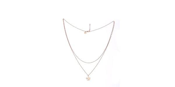 Dámský náhrdelník s ptáčkem Pietro Filipi