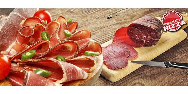 Kvalitní parmská šunka nebo hovězí bresaola