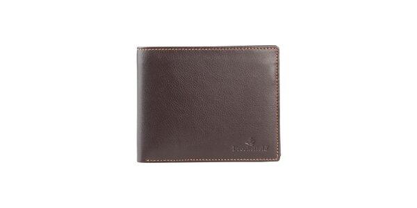 Hnědá kožená peněženka Brooksfield