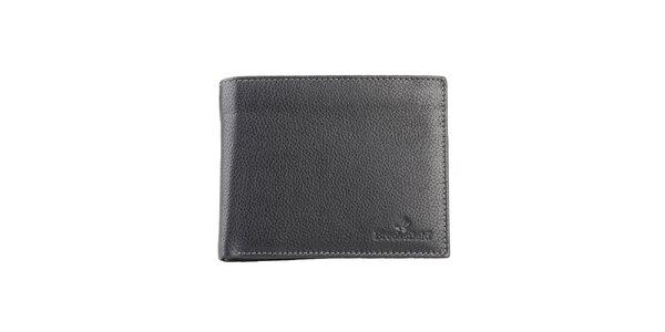 Prošívaná černá peněženka Brooksfield