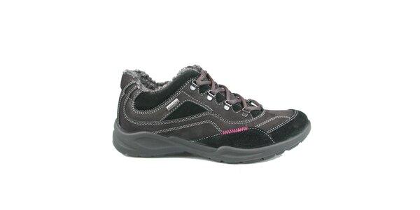 Dámské šedo-černé sportovní boty Numero Uno