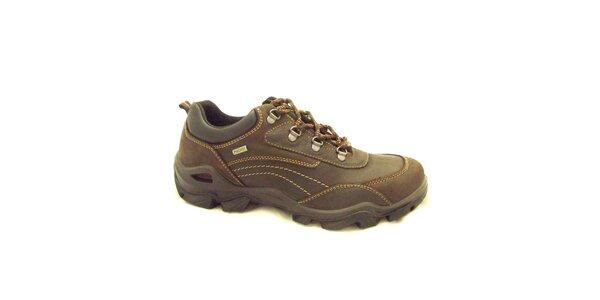 Pánské hnědé sportovní boty Numero Uno
